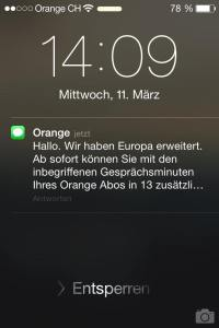 Orange Screenshot