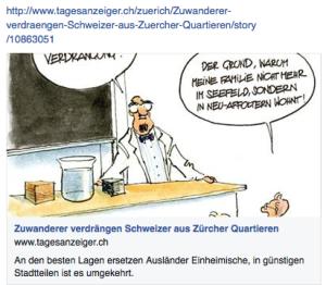 """""""Zuwanderer verdrängen Schweizer"""""""
