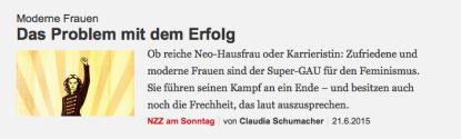 Schumacher Feminismus