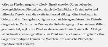 Ein kleiner Ausschnitt aus dem Schumacher-Artikel. Wenn selbst DAS nicht aggressiv macht....